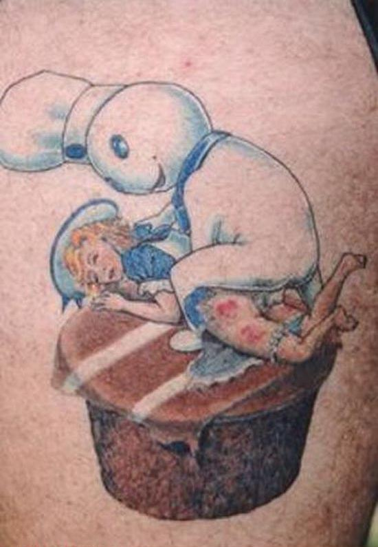 muffin man tattoo