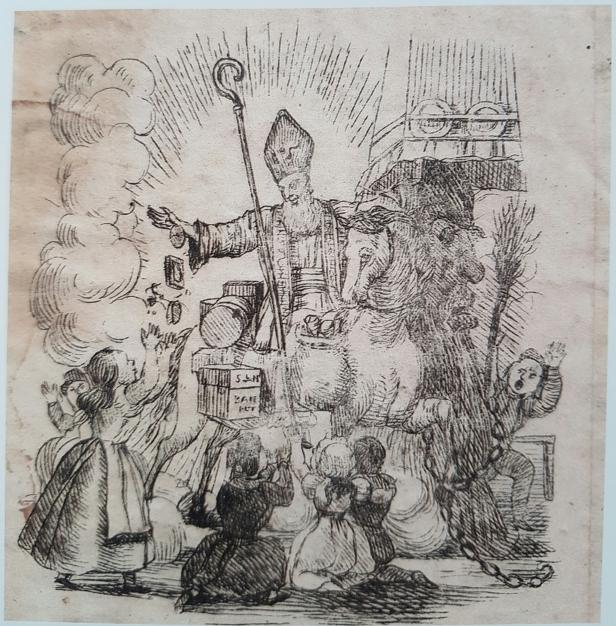 Nicolaasbrief dÁncona 1840