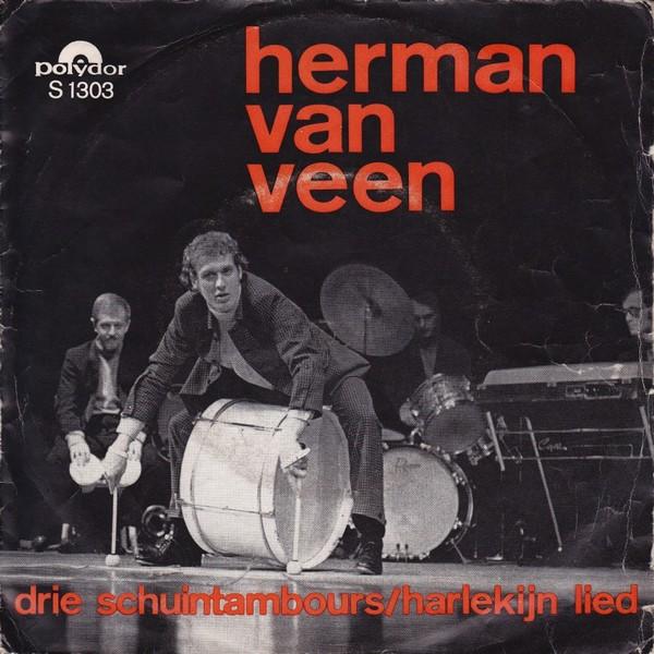 drie schuintambours Herman van Veen