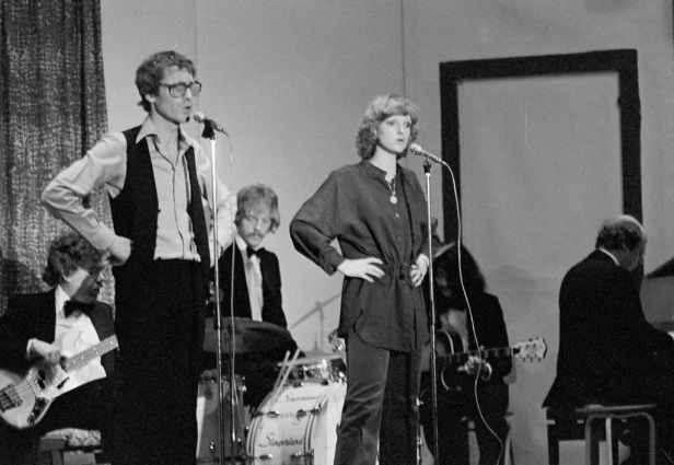 Herman Berkien en Tineke Schouten 1979