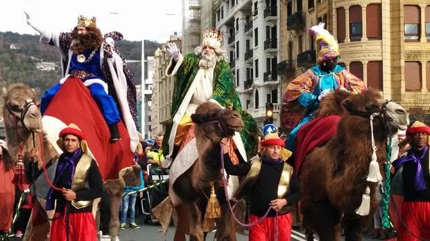 reyes magos kamelen