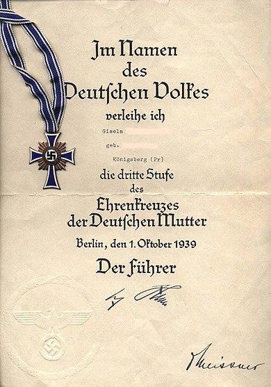 Mutterkreuz1940